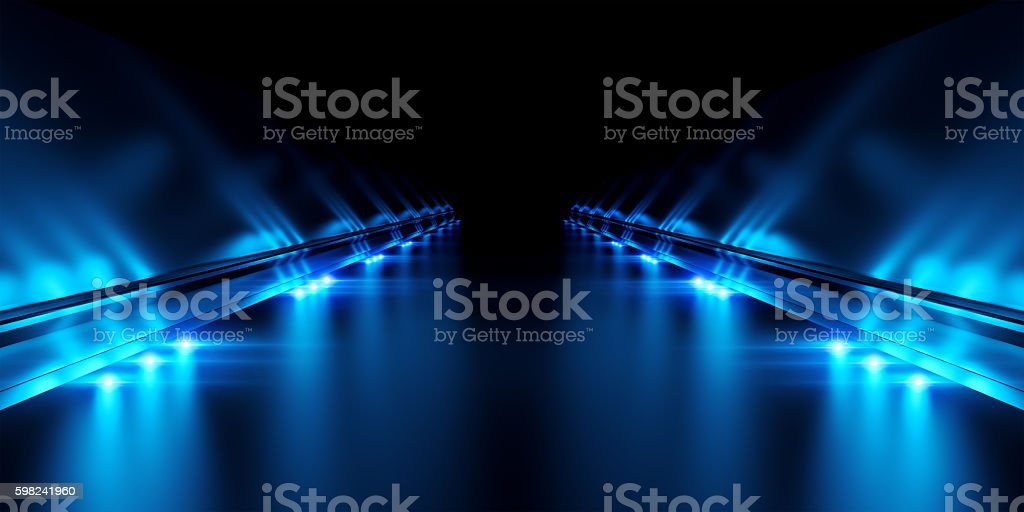 Abstract black background with illumination - foto de stock