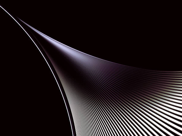 abstract black dynamic element, 3d, illustration, xxlarge - watermark stock photos and pictures
