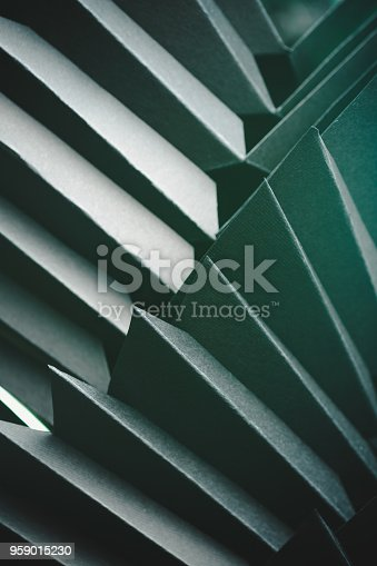 istock Abstract black paper structure 959015230