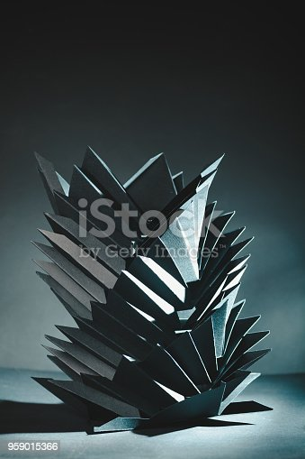 822085986istockphoto Abstract black paper structure 959015366