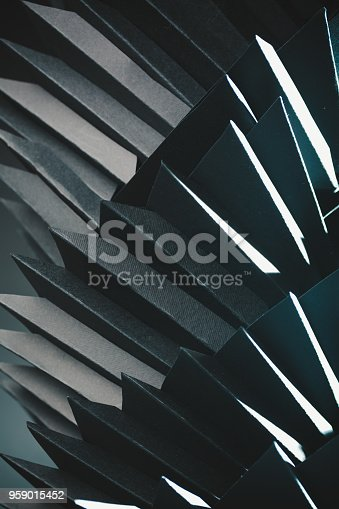 822085986istockphoto Abstract black paper structure 959015452