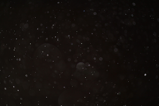 istock Abstract black white snow texture on black background for overlay 486571826