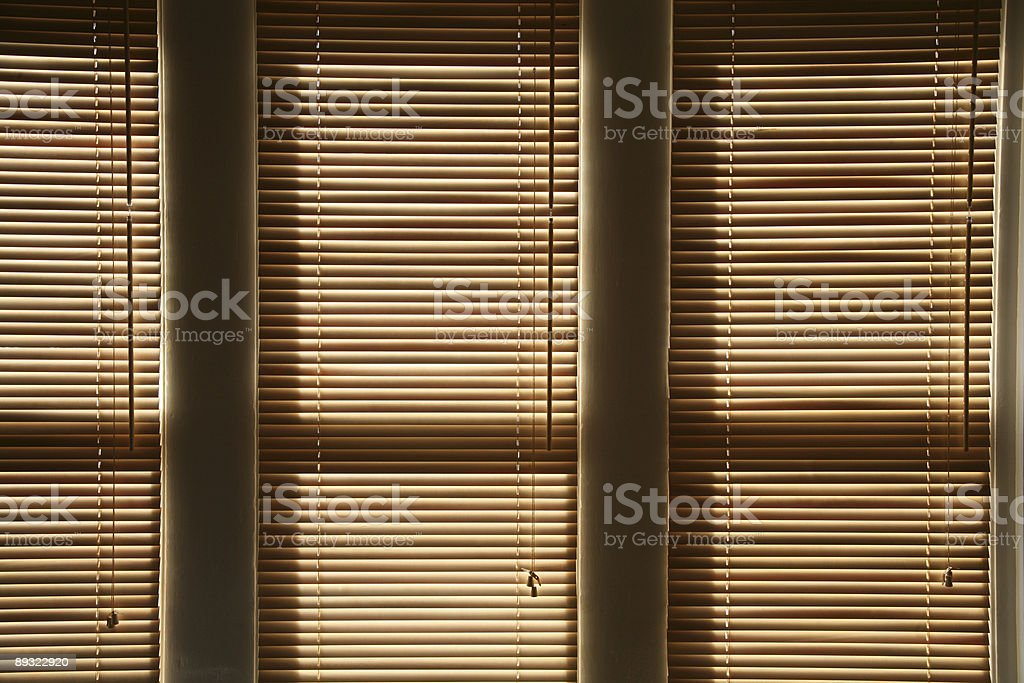 Abstract Blinds royalty-free stock photo