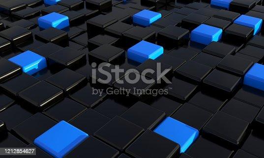 871774704 istock photo Abstract blocks 1212854627