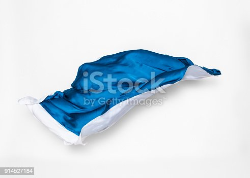 544313504 istock photo abstract blue and white fabric in motion 914527184