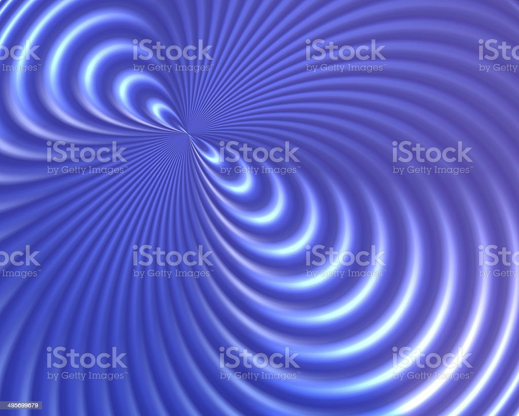 Abstract blue background magnetic field stock photo