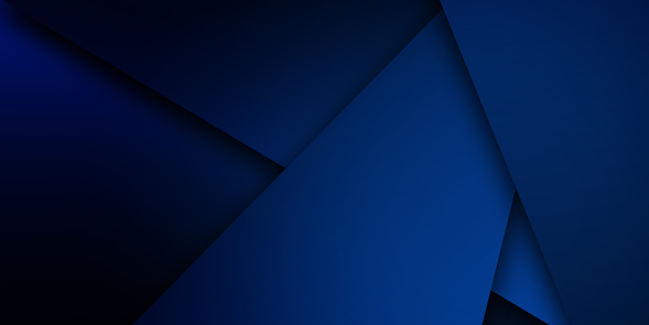 Abstract blue background. Minimal geometric background for use in design