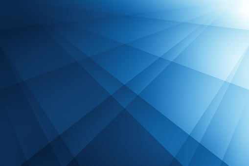 abstract blue background with lines. illustration technology design