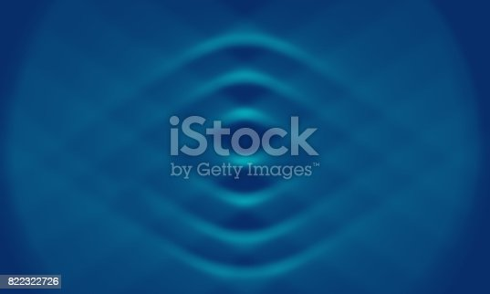 500931628 istock photo Abstract blue background with soft curves 822322726
