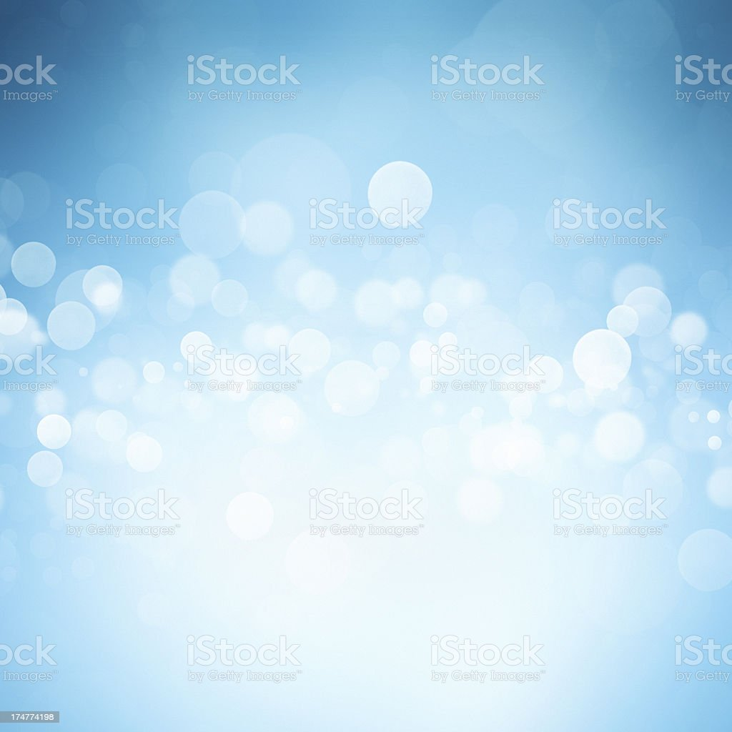 Abstract blue background with white light royalty-free stock photo