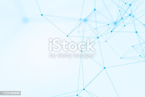 876037556 istock photo Abstract blue backgrounds 1225495890