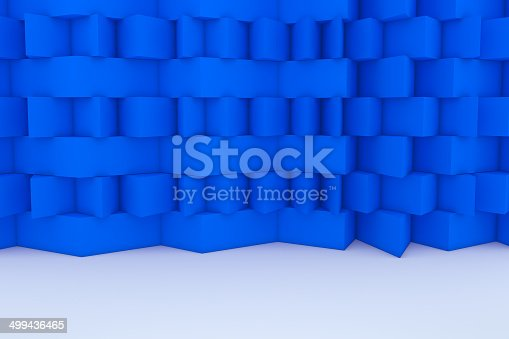 922736646 istock photo Abstract Blue Building Construction 499436465