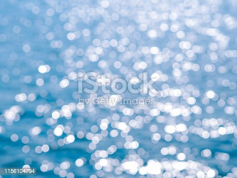 653331540 istock photo Abstract blue circles bokeh from nature for Christmas of any background 1156104794