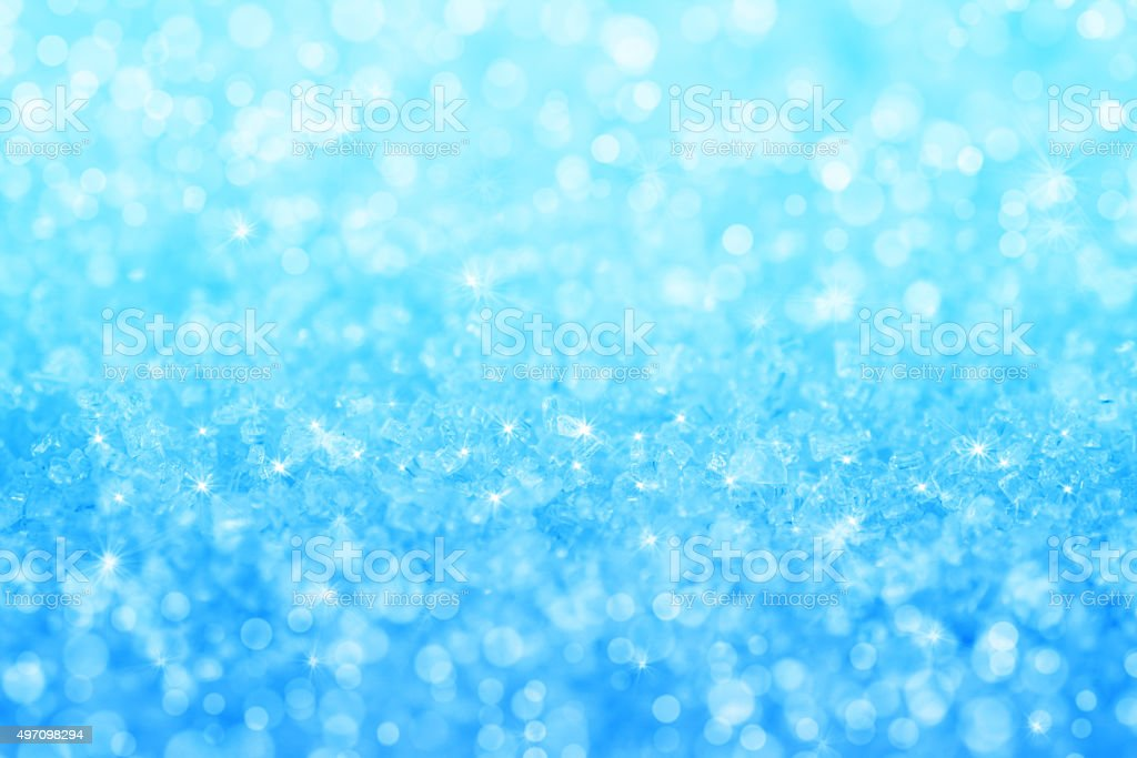 Abstract blue crystal texture background stock photo