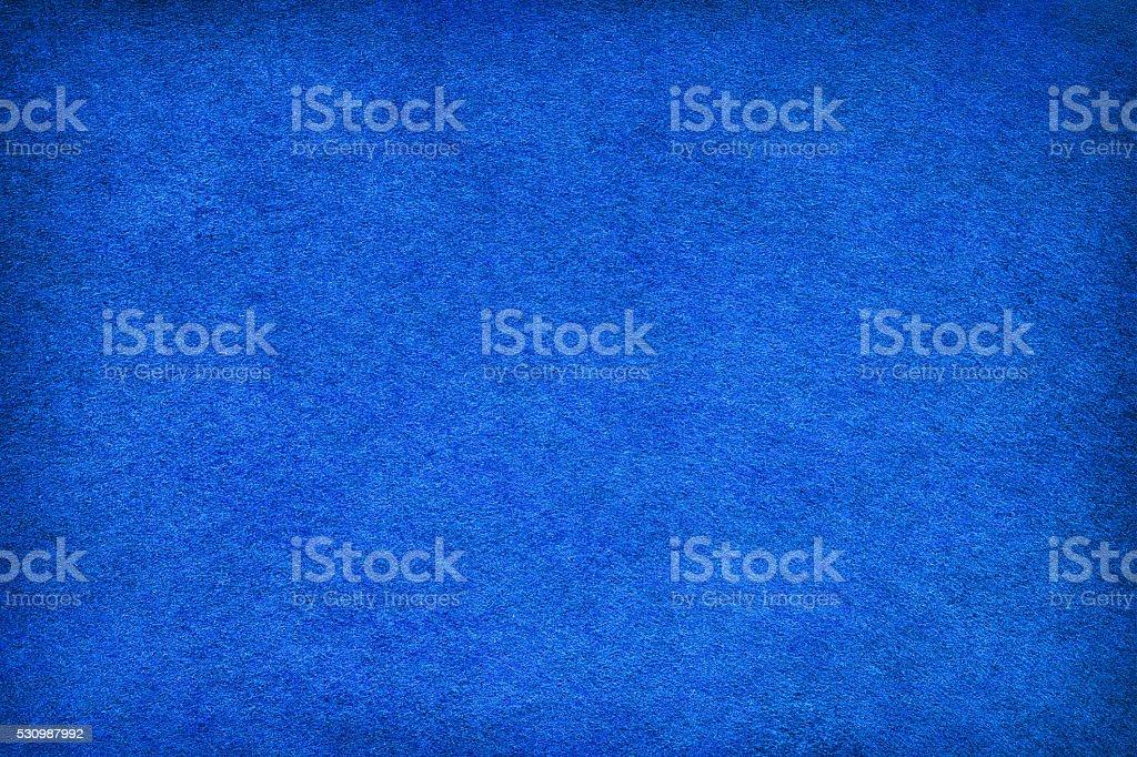 Abstract blue felt background stock photo