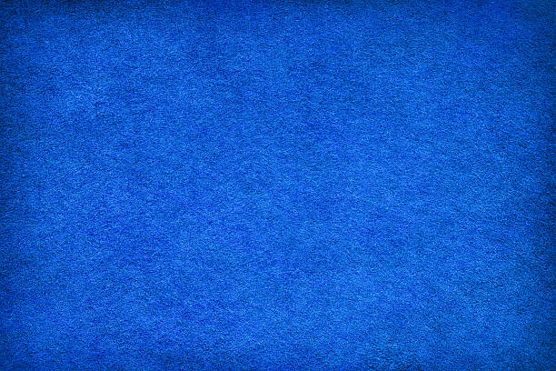 Abstract blue felt background stock photo