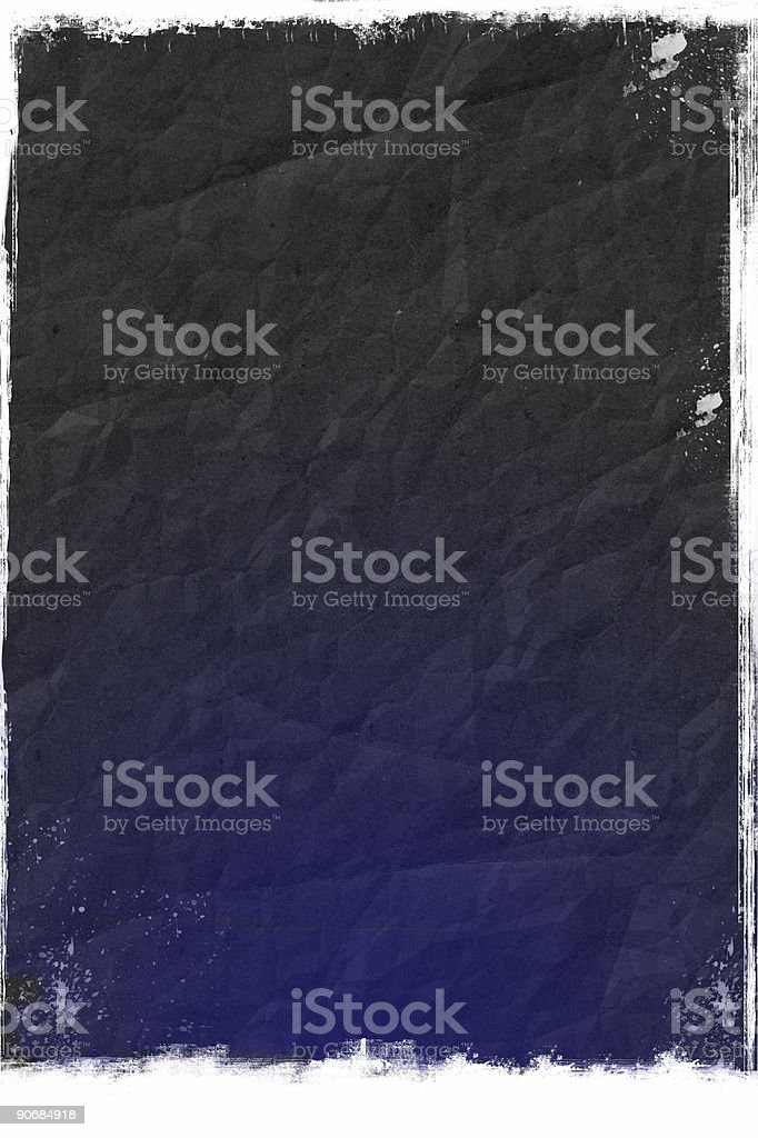Abstract Blue Gradient Grunge - Background stock photo