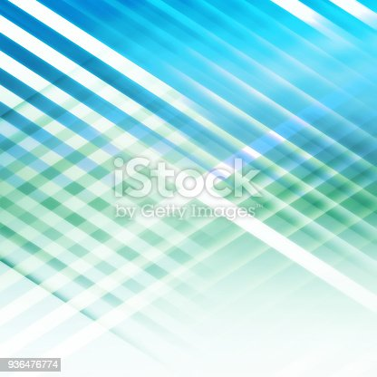 istock Abstract blue green 3d background 936476774