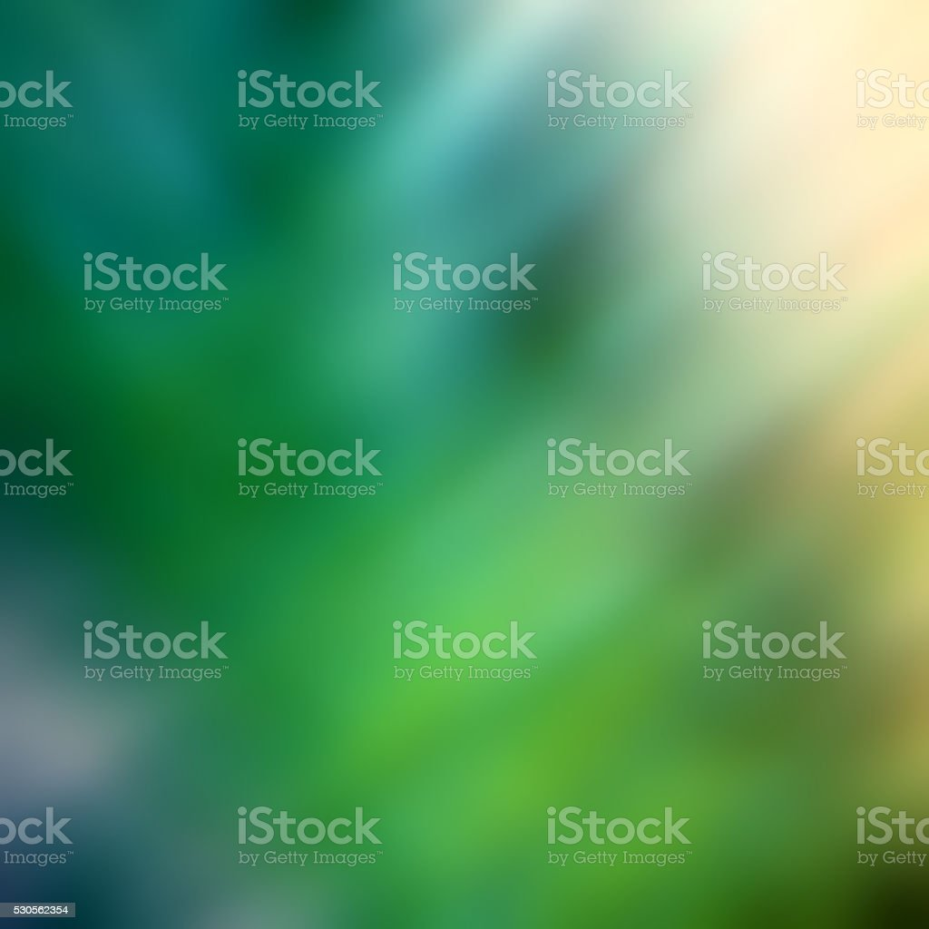 Abstract Blue Green Nature Modern Background stock photo