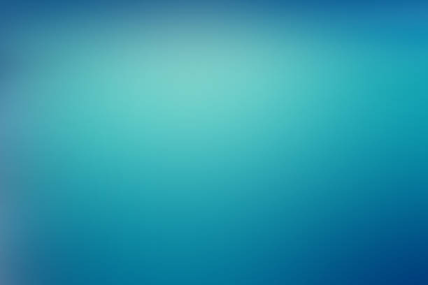 Abstract Blue Green Technology Modern Background ストックフォト