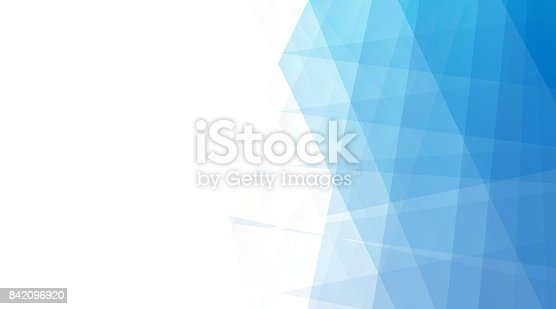 istock Abstract Blue Halftone Background 842096920