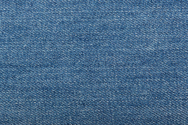 Abstract blue jeans stock photo