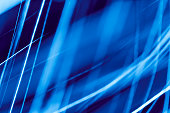 Abstract blue light painting background