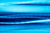Abstract blue light trails background