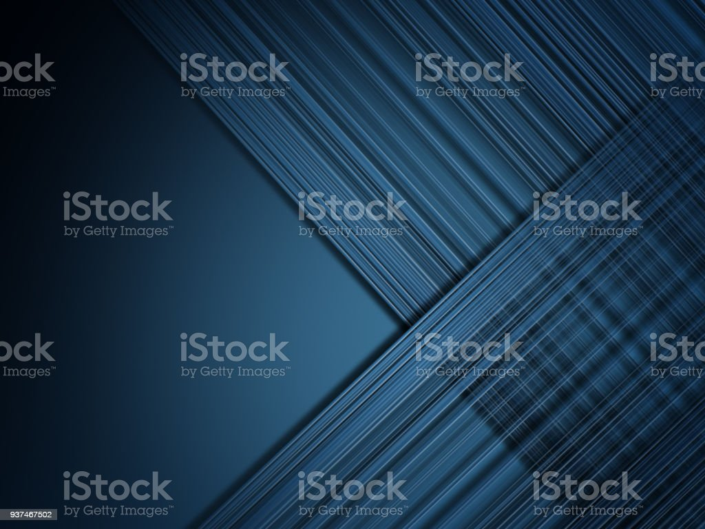 Abstract Blue Line Background stock photo