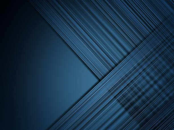 abstrait ligne bleue en arrière-plan - fond multicolore photos et images de collection