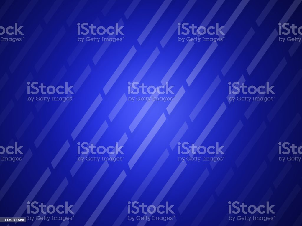 Abstract blue lines modern style background stock photo