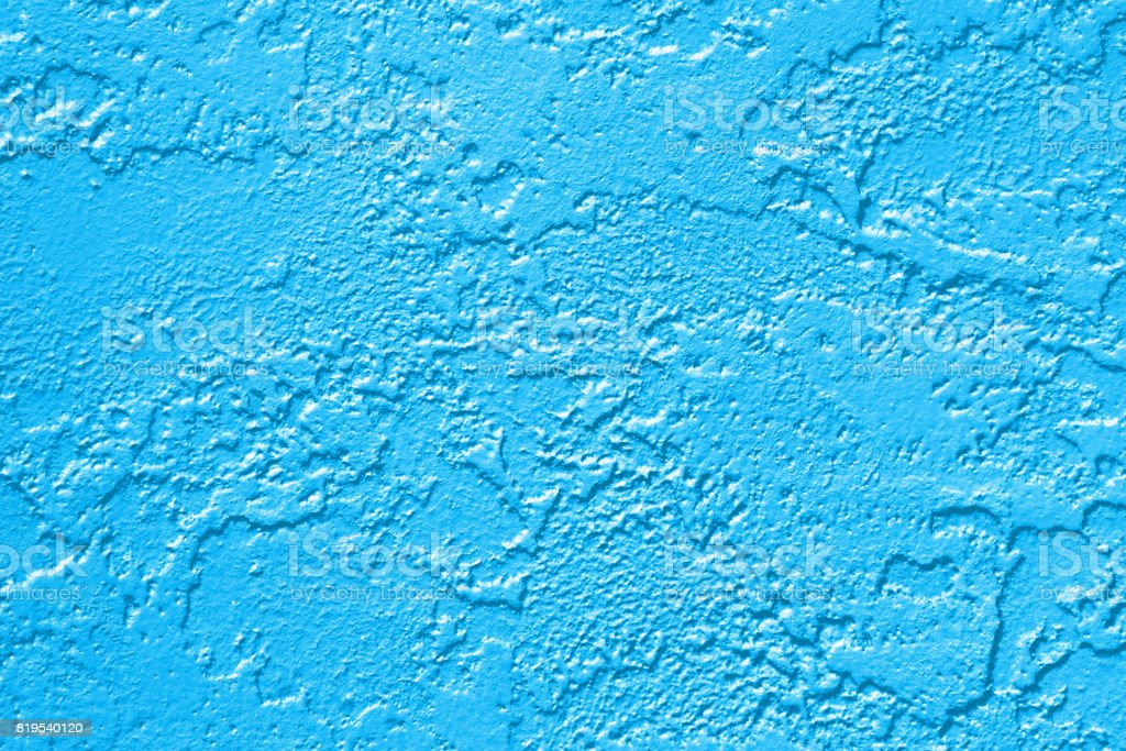 Abstract Blue Paint Wall Background Texture Stock Photo More