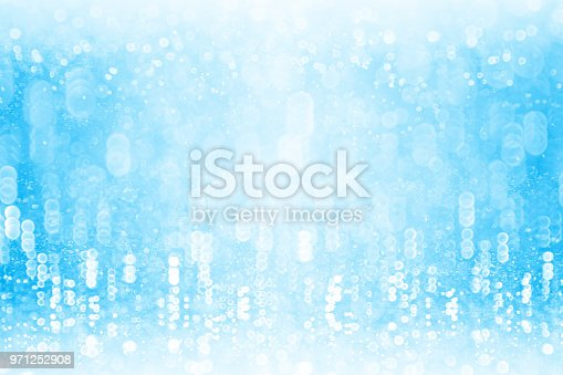 1058078946 istock photo Abstract Blue Rain Water or Pool Party Background Sparkle 971252908