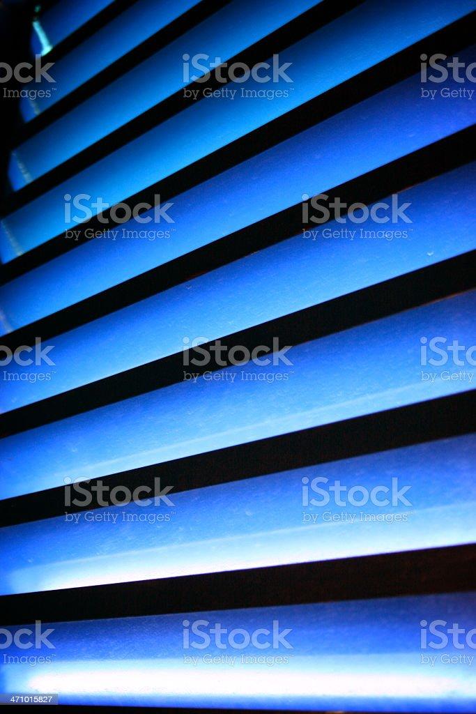 abstract blue ray stock photo