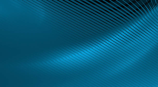 abstract blue stripes stock photo