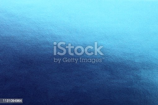 Abstract blue surface as a background.
