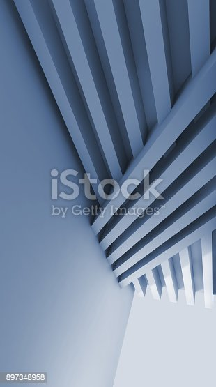 istock Abstract blue toned digital graphic background 897348958