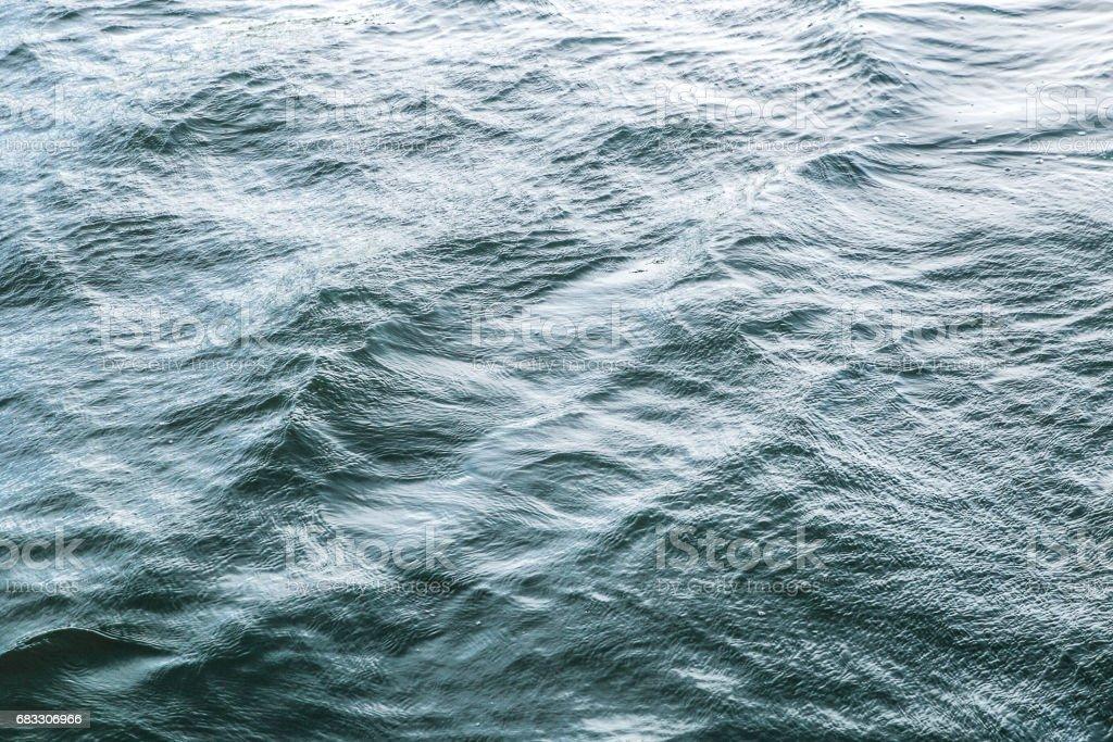 Abstract blauw water zee voor achtergrond royalty free stockfoto