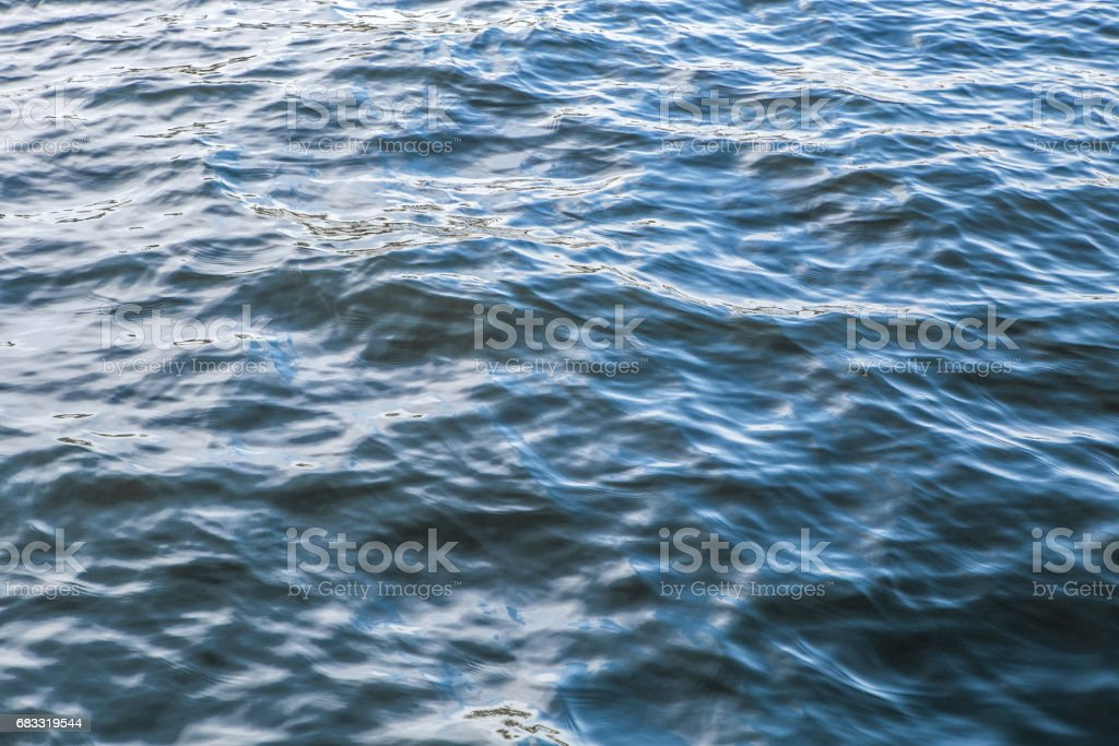 Abstract blue water sea for background royalty-free stock photo