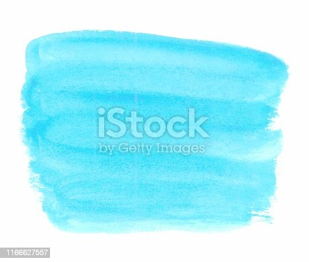 610861102 istock photo abstract blue watercolor  background with space for text or image 1166627557