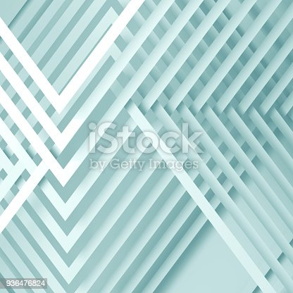 istock Abstract blue white background, 3 d 936476824
