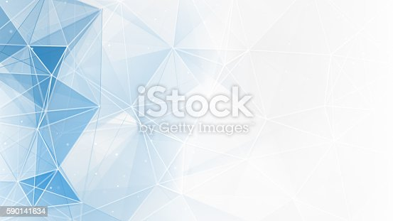 istock abstract blue white geometrical web background 590141634