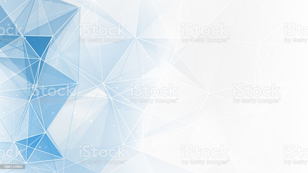 abstract blue white geometrical web background stock photo