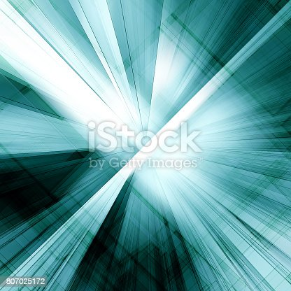 692868922 istock photo Abstract blueprint 3d 807025172