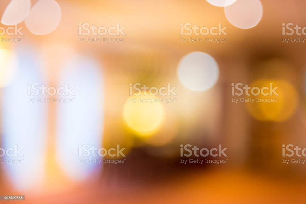 Abstract blur background of hotel lobby royalty-free stock photo