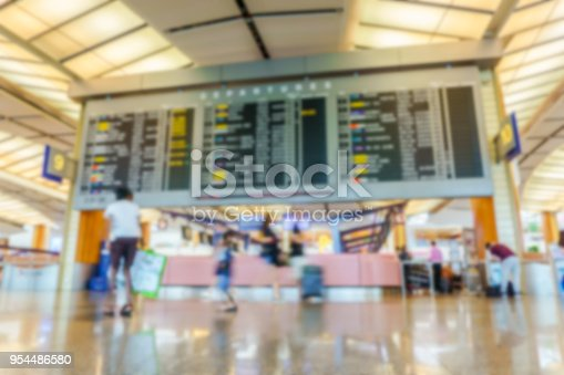 469824732istockphoto abstract blur background texture in airport 954486580