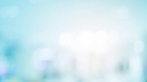 abstract blur beautiful blue color with luxury bokeh bulbs and shiny light background for design as banner template concept - focagem no primeiro plano imagens e fotografias de stock