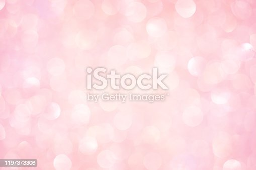 1068830592istockphoto abstract blur beautiful elegance bright pale pastel pink color background with circle bokeh light and shinning for valentine's day collection design as banner concept 1197373306
