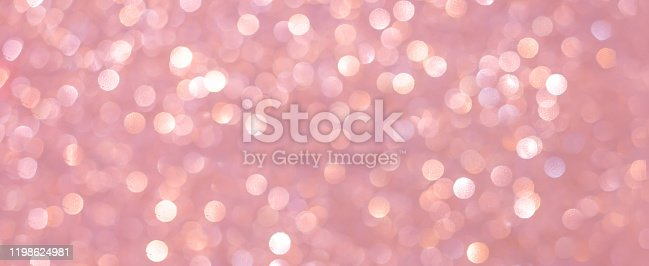 istock abstract blur beautiful elegance pale pastel pink color panoramic background with circle bokeh light and shinning for valentine's day collection design as banner concept 1198624981
