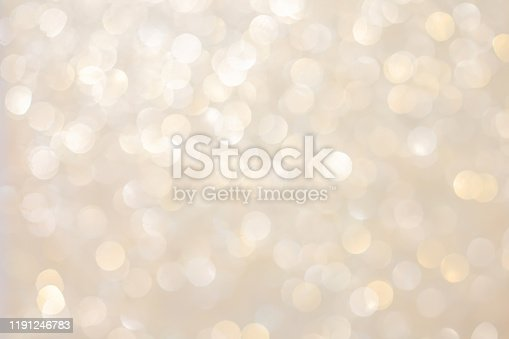 abstract blur beautiful gold metallic color background with circle bokeh light for christmas festival and happy new year 2020 season design as banner concept